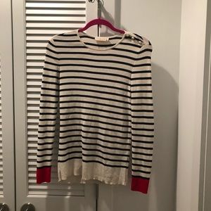 Tory Burch pearl sweater
